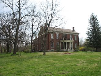 First Battle of Lexington - Anderson House, a Union hospital, was attacked by Confederates during the battle