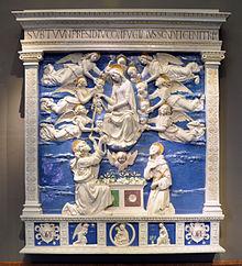 Andrea della Robbia, Madonna della Cintola (1500 circa), Liebieghaus