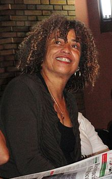 Photograph of Angela Davis in 2010 courtesy of Wikipeda