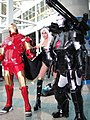 Anime Expo 2011 - Iron Man, Storm, and War Machine (5893319698).jpg