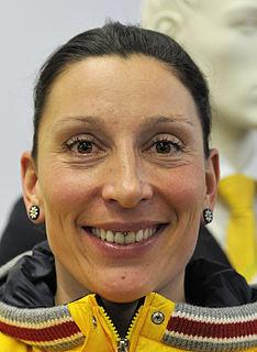 Anja Schneiderheinze-Stöckel German bobsledder and speedskater