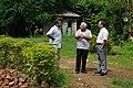 Anjan Bose Talks With Ministerial Officer And Ganga Singh Rautela - Aurora Studio - 34-1 - Block GN - Sector V - Salt Lake City - Kolkata 2012-10-06 1555.JPG