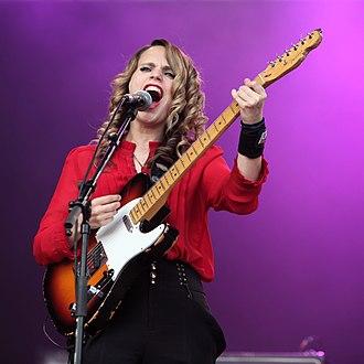 Anna Calvi - Anna Calvi at the Eurockéennes de Belfort live on 2 July 2011.
