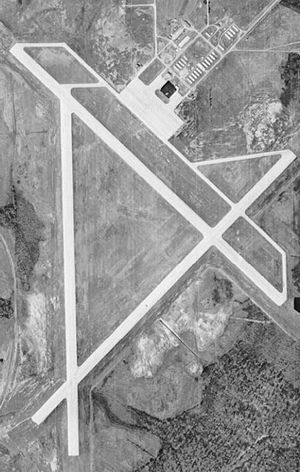 Anniston Air Force Base - Archive photo of the former Anniston AFB, 12 February 1949