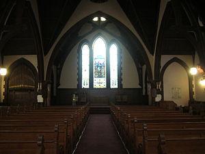 History of the University of Virginia - Inside the UVA Chapel