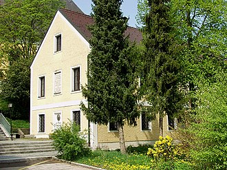 Anton Bruckner - The house in Ansfelden, Austria, where Anton Bruckner was born