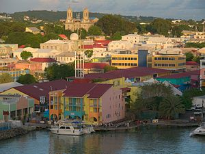 Antigua and Barbuda - St. John's parish on Antigua.