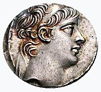 Antiochus X on a tetradrachm