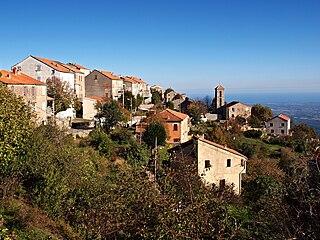 Antisanti Commune in Corsica, France