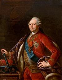 Portrait de Louis XVI par Antoine-François Callet, Musée d'Art de São Paulo (vers 1780)