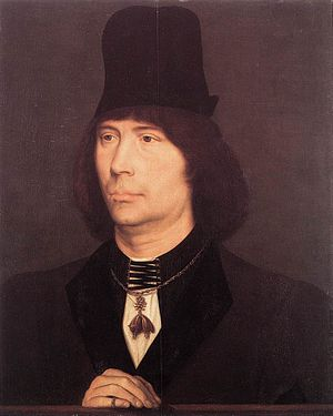 Anthony, bastard of Burgundy - Anthony, bastard of Burgundy.  Portrait attributed to Hans Memling, 1467–70.