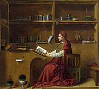 Antonello da Messina - St Jerome in his study - National Gallery London detail.jpg