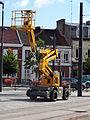 Anzin & Valenciennes - Travaux de raccordement des lignes A & B du tramway de Valenciennes à la Croix d'Anzin le 13 août 2013 (31).JPG