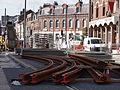 Anzin & Valenciennes - Travaux de raccordement des lignes A & B du tramway de Valenciennes à la Croix d'Anzin le 13 août 2013 (39).JPG