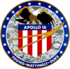 Logotip Apollo 16
