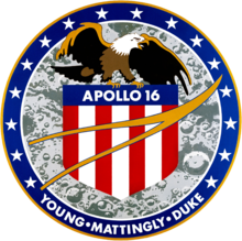 Wikipedia: Charlie Duke at Wikipedia: 220px-Apollo-16-LOGO