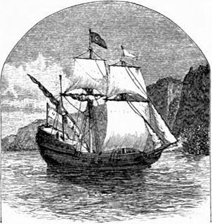 Dutch ship Henry Hudson sailed in 1609 to modern New York Harbor