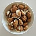 Apricot kernel in bowl.jpg
