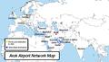 Arak Airport Network Map.png
