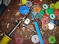 Arandelas, tuercas recicladas 4.JPG