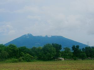 Philippine Institute of Volcanology and Seismology - Mt. Arayat, an inactive volcano in the Philippines.