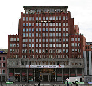 The Arbeiderpartiet headquarters, Oslo