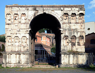 Arch of Janus Ancient building in Rome