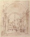Architectural Capriccio- Grand Staircase Seen through an Archway MET 37.165.79.jpg