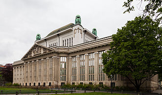 Croatian State Archives - Exterior view of the State Archives building.