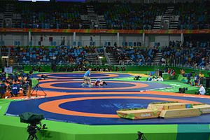 The Gambia at the 2016 Summer Olympics - The Arena Carioca 2, where Njie participated in judo events.