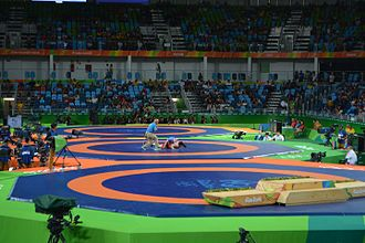 The Gambia at the 2016 Summer Olympics - The Arena Carioca 2, where Njie participated in judo