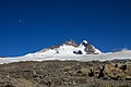Argentina - Mt Tronador Ascent - 58 - moon over Tronador (6816377806).jpg