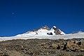 Argentina - Mt Tronador Ascent - 58 - moon over Tronador (6816377806).jpg