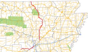 Arkansas Highway 5 - Image: Arkansas 5