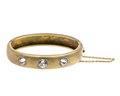 Armband av guld med vita topaser, 1907 - Hallwylska museet - 110125.tif