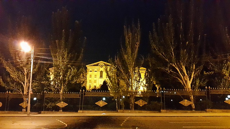 File:Armenian National Assembly building at night (2).jpg
