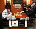 Aronian vs. Morozevich Linares 2007.jpg