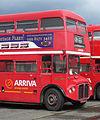 Arriva Heritage Fleet Routemaster coach RMC1453 (453 CLT), 2008 Cobham bus rally.jpg
