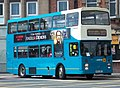 Arriva bus 7261 Scania N113 East Lancs E Type M172 GRY in Newcastle 9 May 2009.jpg