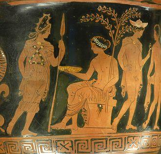 Bendis - Image: Artemis Apollo Hermes Louvre G515