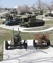 Artillery Park Fort Sill 2012