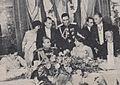 Arturo Illia y Silvia Martorell junto al Shah y la Reina consorte de Irán.jpg