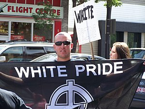 Members of the Alberta-based neo-nazi group Ar...