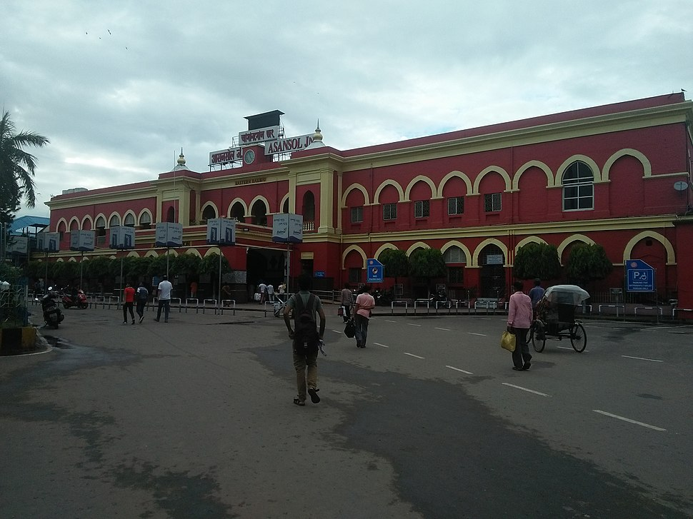 Asansol Junction by Atra