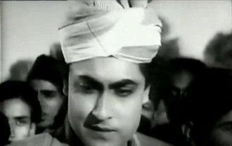 Ashok Kumar - Ashok Kumar in the 1943 film Kismet.