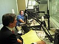 Assistant Secretary Fernandez With WLRN Miami Herald News Host Philip Latzman.jpg