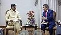 Assistant Secretary Rivkin Meets With Chief Minister of Andhra Pradesh Naidu in Hyderabad (25399864714).jpg