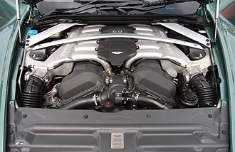 Aston Martin DB9 - The 5.9-litre V12 engine