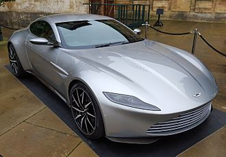 Spectre (2015 film) - The Aston Martin DB10 is driven by Bond in the film.