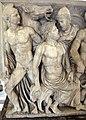 Atene, sarcofago con achille licomede, 240 dc ca, da roma, collez. borghese, 03.JPG